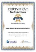 Certyfikat Anna Górska Kancelaria Podatkowa