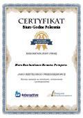 Certyfikat Biuro Rachunkowe Renata Pempera