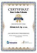 Certyfikat E-Podatnik Sp. z o.o.