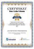 Certyfikat Kancelaria Doradztwa Podatkowego ReTax Doradca Podatkowy Anna Maria Klich