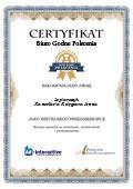 Certyfikat Kancelaria Księgowa Anna Lepiarczyk
