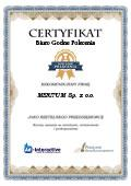 Certyfikat MERITUM Sp. z o.o.