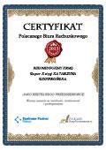 Certyfikat Super Księgi KATARZYNA SKOWROŃSKA