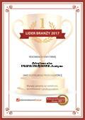 Certyfikat USŁUGI KSIĘGOWE Justyna Zdrojkowska