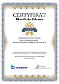 Certyfikat Żura Przedsiębiorstwo Handlowo-Usługowe Zbigniew Żurakowski